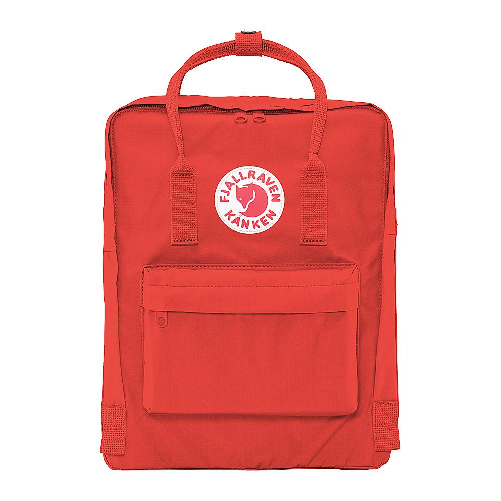 Fjallraven Kanken Backpack Deep Red - Fjallraven Everyday Backpacks - Backpacks, Everyday Backpacks
