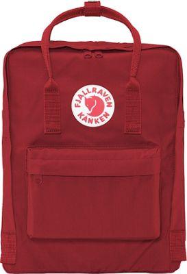 Fjallraven Kanken Backpack Ox Red - Fjallraven Everyday Backpacks