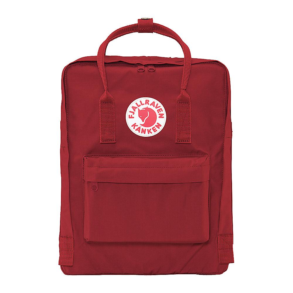 Fjallraven Kanken Backpack Ox Red Fjallraven Everyday Backpacks