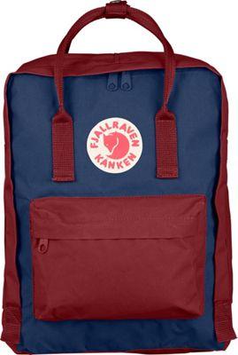 Fjallraven Kanken Backpack Royal Blue-Ox Red - Fjallraven Everyday Backpacks