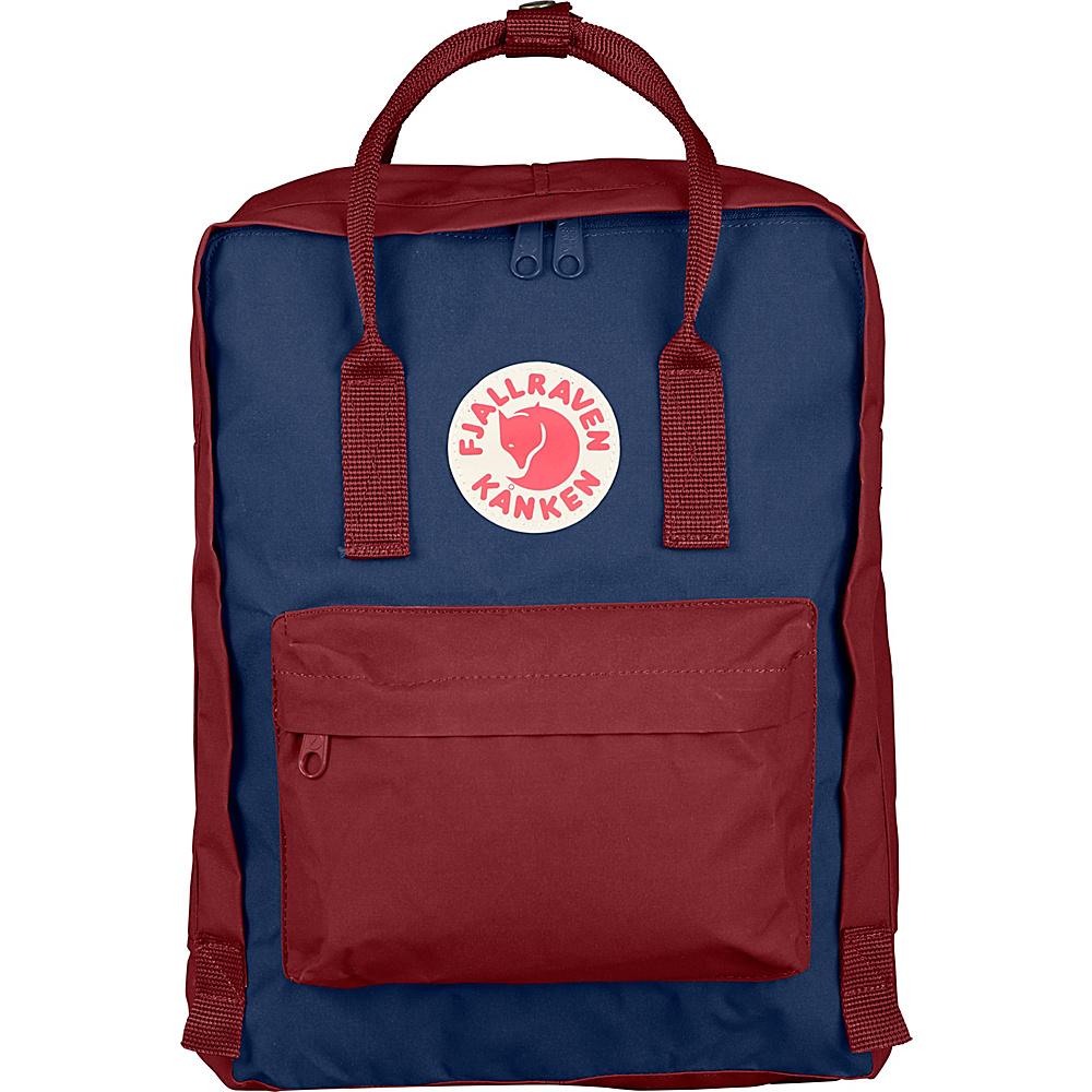 Fjallraven Kanken Backpack Royal Blue-Ox Red - Fjallraven Everyday Backpacks - Backpacks, Everyday Backpacks