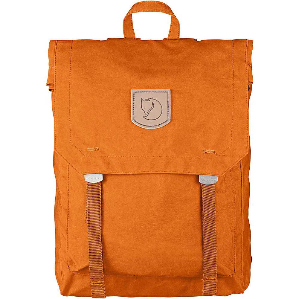 Fjallraven Foldsack No.1 Backpack Seashell Orange - Fjallraven Everyday Backpacks - Backpacks, Everyday Backpacks