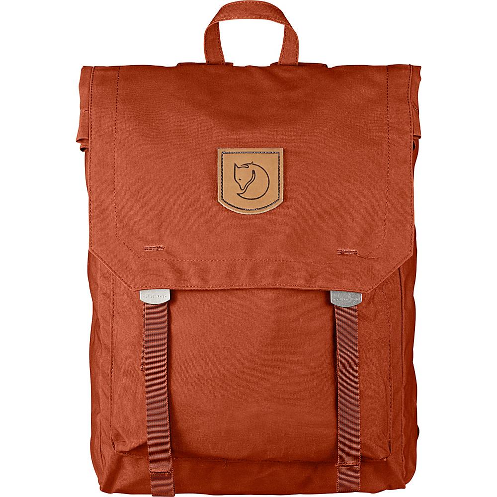 Fjallraven Foldsack No.1 Backpack Autumn Leaf - Fjallraven Everyday Backpacks - Backpacks, Everyday Backpacks