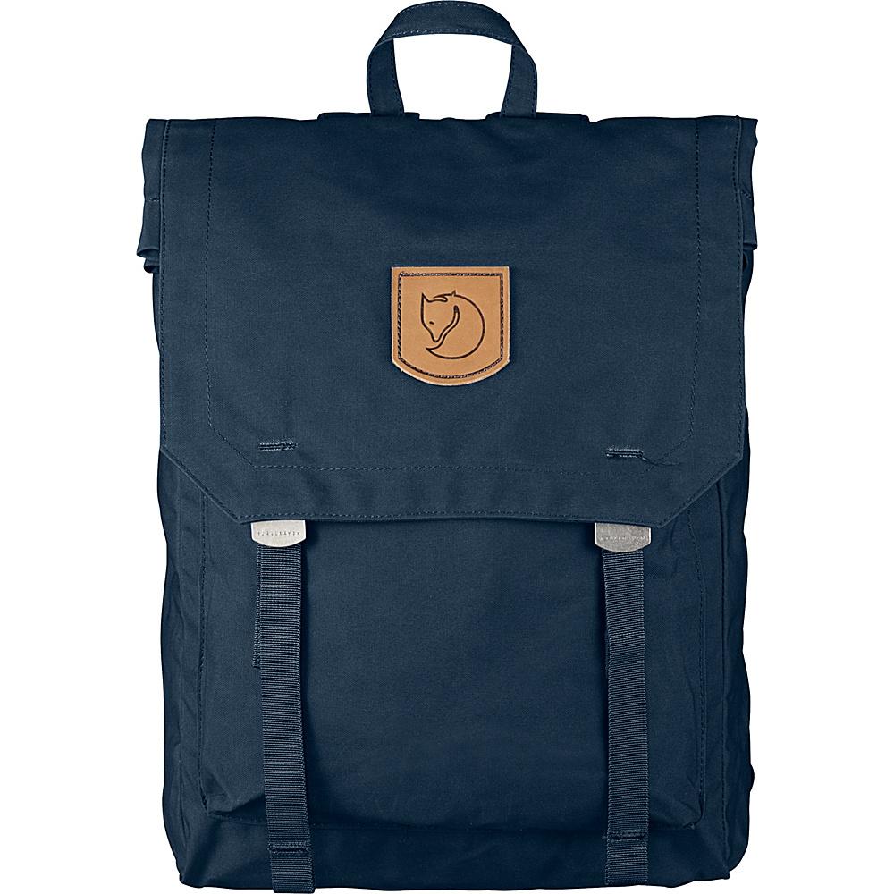 Fjallraven Foldsack No.1 Backpack Navy - Fjallraven Everyday Backpacks - Backpacks, Everyday Backpacks