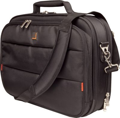 Urban Factory City Classic Case 15.6 inch with Document Compartment Black - Urban Factory Non-Wheeled Business Cases