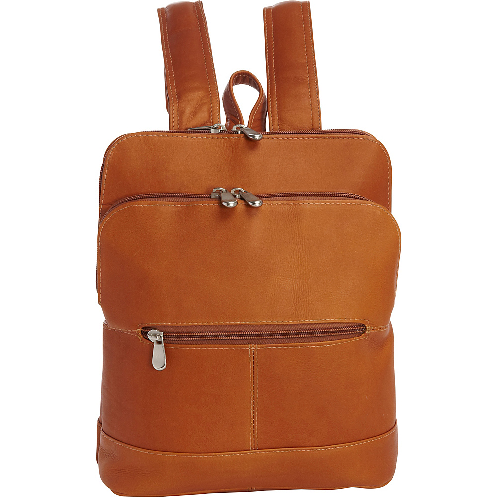 Le Donne Leather Riverwalk Womens Backpack Tan - Le Donne Leather Leather Handbags - Handbags, Leather Handbags