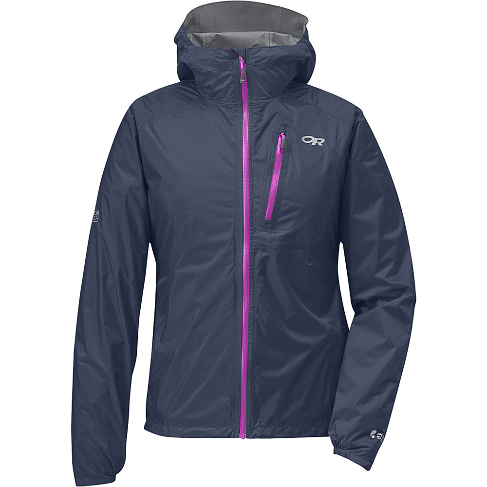 Outdoor Research Womens Helium II Jacket XS - Night/Ultraviolet - Outdoor Research Womens Apparel - Apparel & Footwear, Women's Apparel