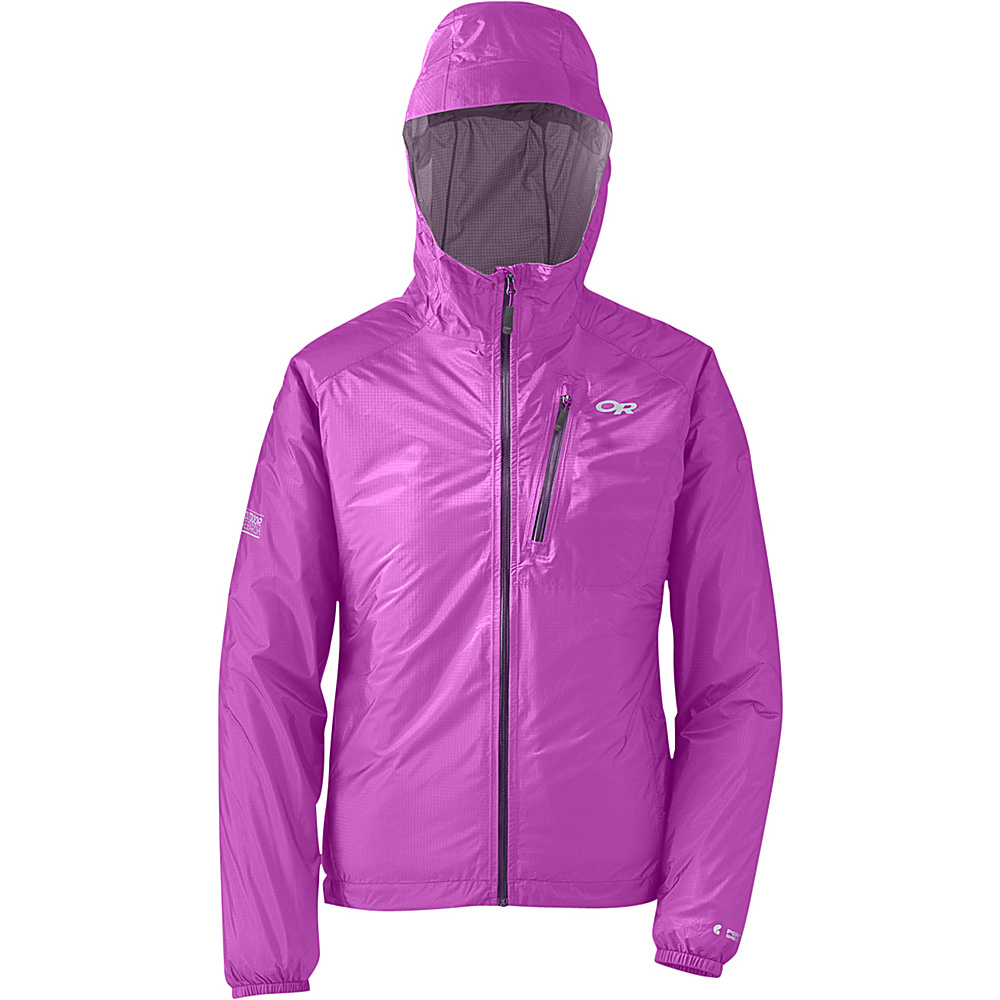 Outdoor Research Womens Helium II Jacket XS - Ultraviolet - Outdoor Research Womens Apparel - Apparel & Footwear, Women's Apparel