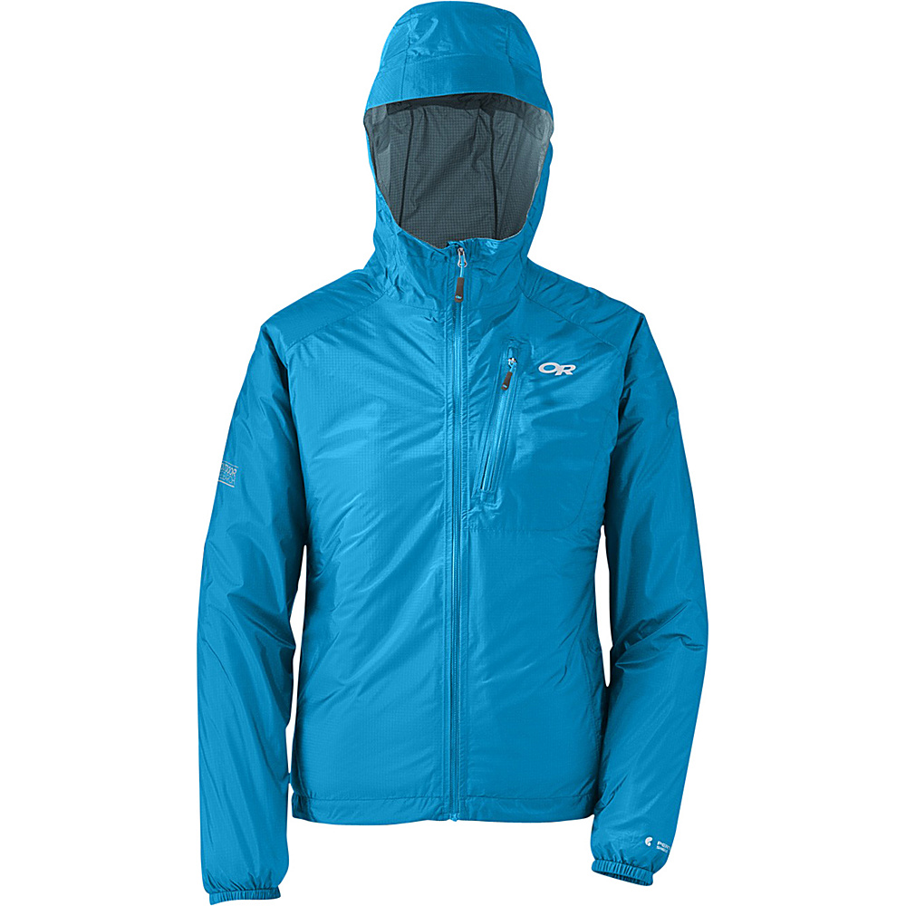Outdoor Research Womens Helium II Jacket M - Hydro - Outdoor Research Womens Apparel - Apparel & Footwear, Women's Apparel
