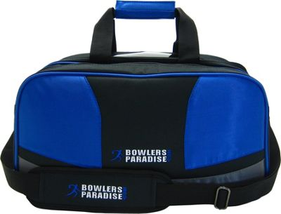 Bowler's Paradise Double Tote Plus Blue - Bowler's Paradise Bowling Bags