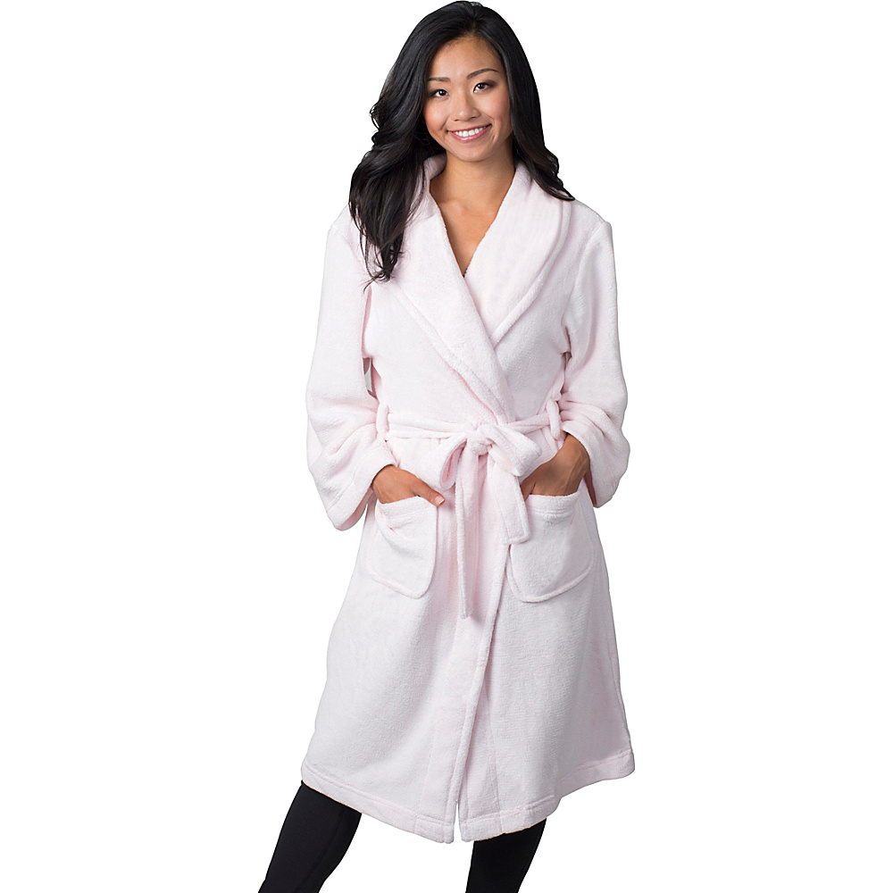Soybu Fleece Spa Robe S M Cotton Candy Soybu Women s Apparel