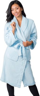 Soybu Fleece Spa Robe S/M - Reef Blue - Soybu Women's Apparel