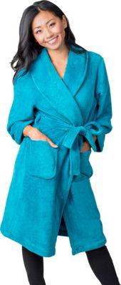 Soybu Fleece Spa Robe S/M - Caribbean - Soybu Women's Apparel