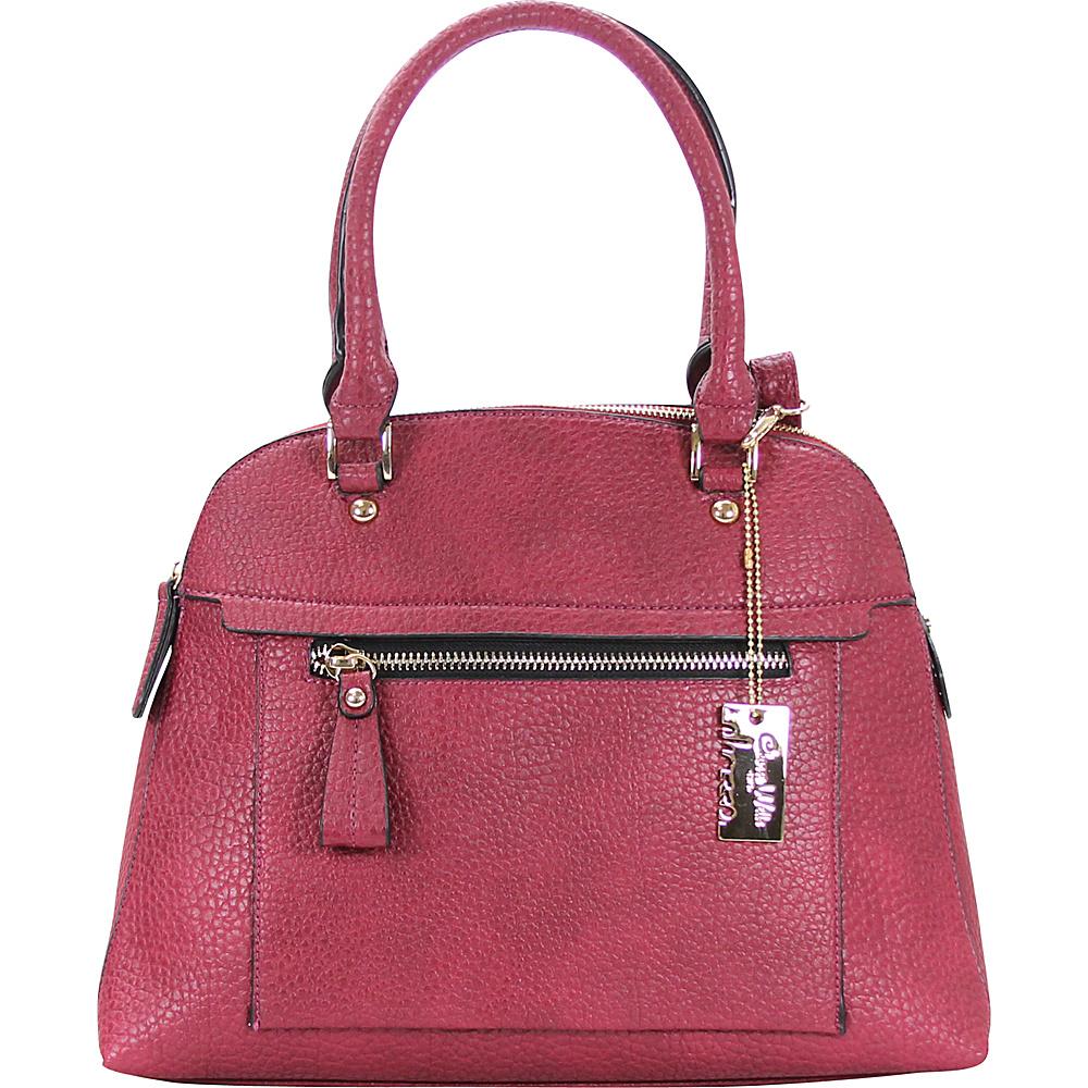 Chasse Wells Porter Tote Plum Chasse Wells Manmade Handbags