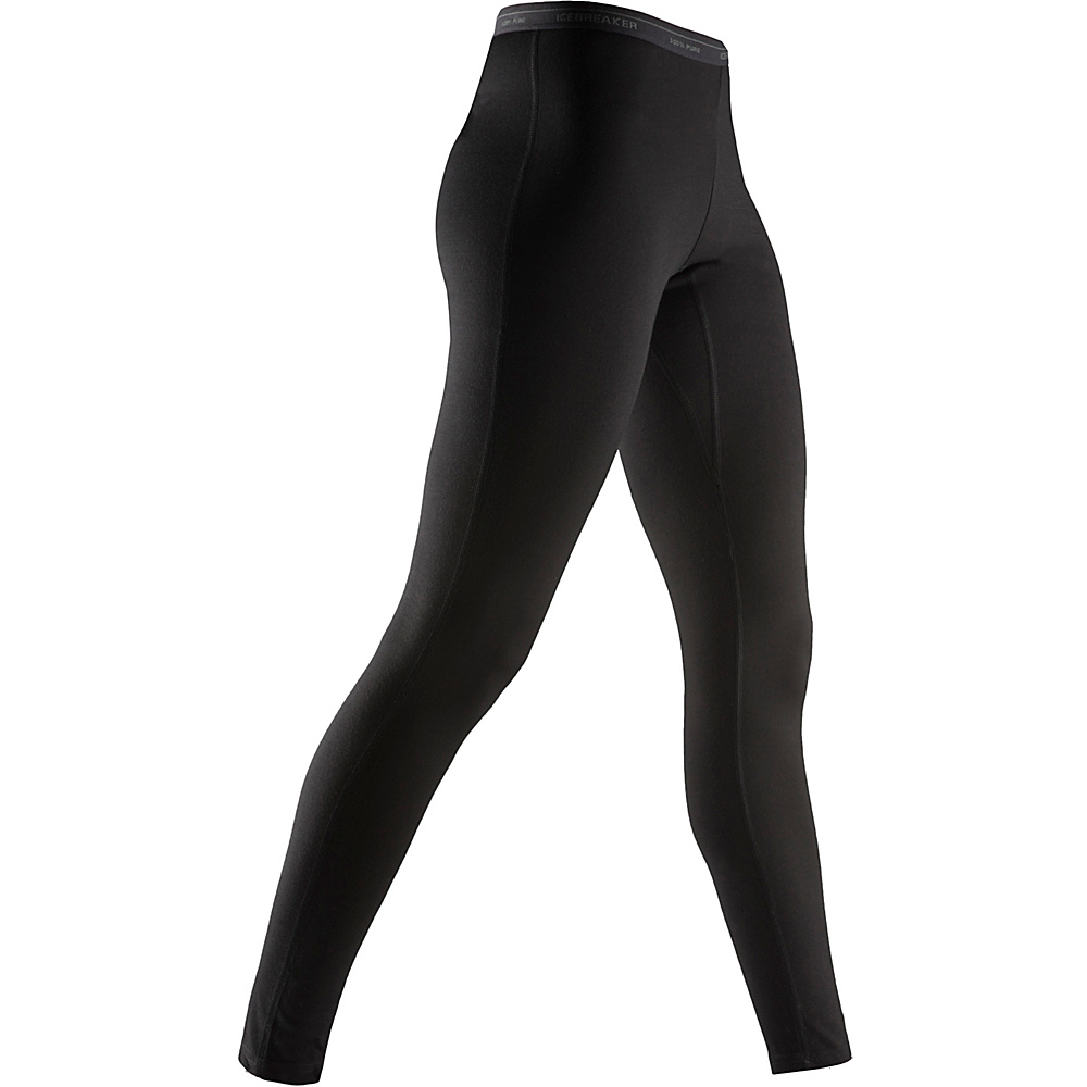 Icebreaker Women s Oasis Leggings XS Black Icebreaker Women s Apparel
