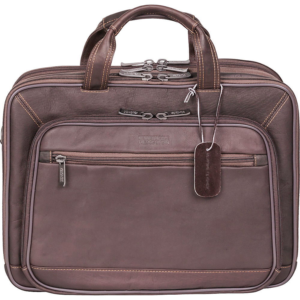 Kenneth Cole Reaction A Golden Op Port Unity Brown Kenneth Cole Reaction Non Wheeled Business Cases
