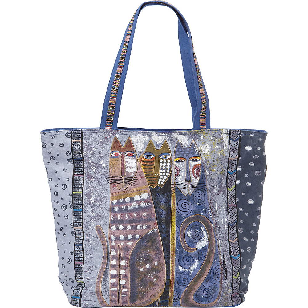 Laurel Burch Autumn Felines Tote Autumn Felines Laurel Burch Fabric Handbags