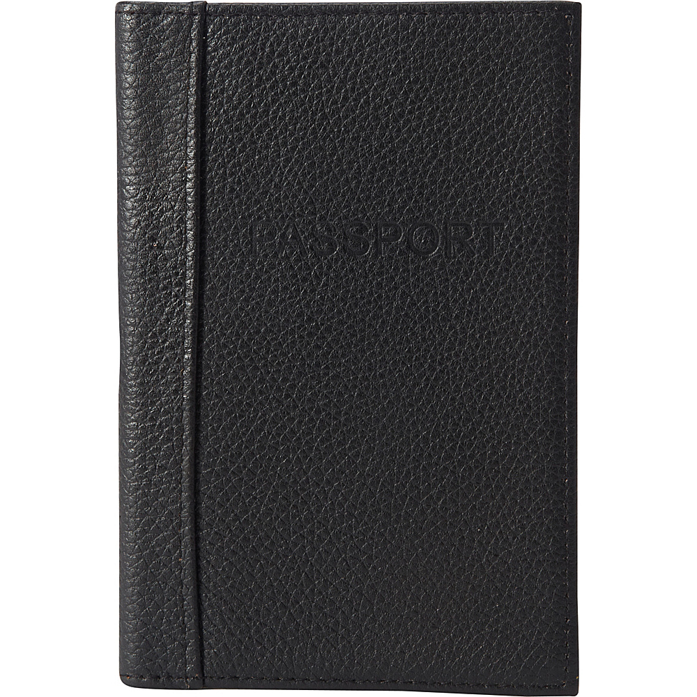 Buxton Hudson Pik-Me-Up RFID Passport Case Black - Buxton Travel Wallets - Travel Accessories, Travel Wallets