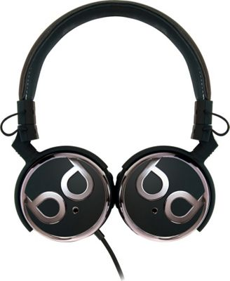 Image of Bell'O Digital 40mm Driver High Performance Headphones Black and Dark Chrome - Bell'O Digital Electronics