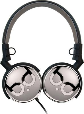 Image of Bell'O Digital 40mm Driver High Performance Headphones Black/Graphite and Chrome - Bell'O Digital Electronics