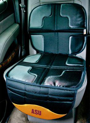 Lil Fan PAC-12 Teams Seat Protector Arizona State University - Lil Fan Trunk and Transport Organization