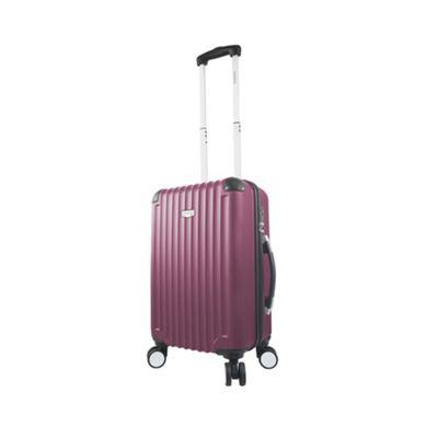 Mia Viaggi ITALY Verona 20 inch Hardside Spinner Carry-On Burgundy - Mia Viaggi ITALY Hardside Carry-On