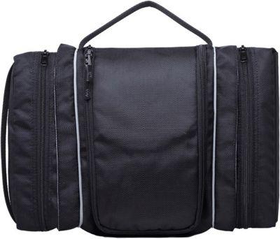 Wellzher Toiletry Bag Black - Wellzher Toiletry Kits