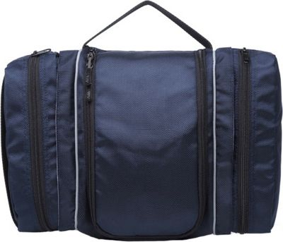 Wellzher Toiletry Bag Navy - Wellzher Toiletry Kits
