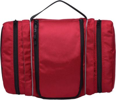 Wellzher Toiletry Bag Burgundy - Wellzher Toiletry Kits