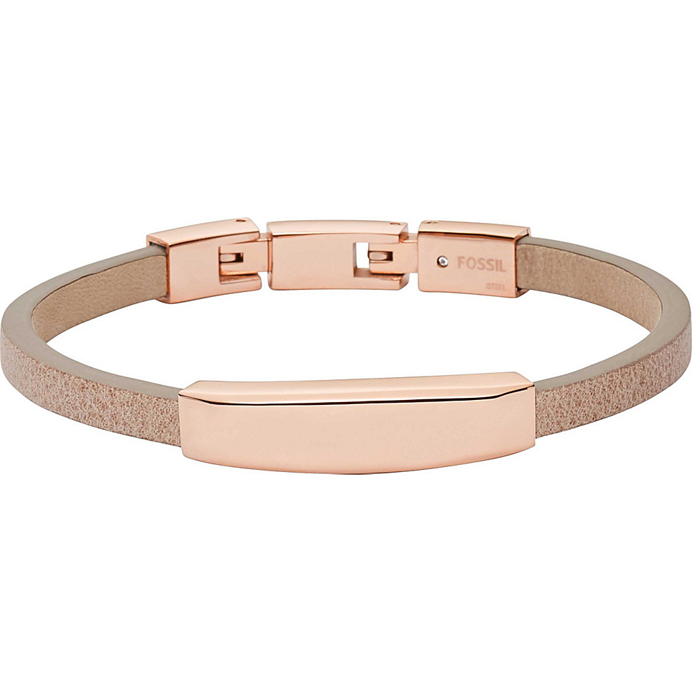 Fossil Plaque Bracelet Rose Gold - Fossil Other Fashion Accessories - Fashion Accessories, Other Fashion Accessories