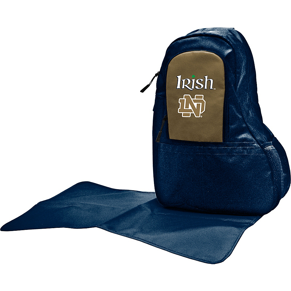 Lil Fan Independent Teams Sling Bag University of Notre Dame Lil Fan Diaper Bags Accessories