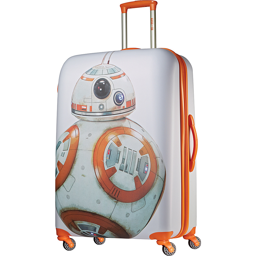 "American Tourister Star Wars Spinner Luggage - 28"" BB8 - American Tourister Hardside Checked"