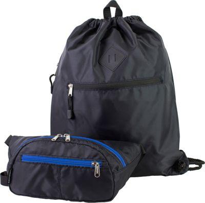 Eastsport Absolute Sport Belt Bag and Drawstring Bundle Black - Eastsport Slings