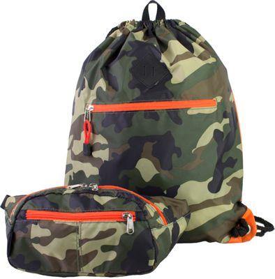 Eastsport Absolute Sport Belt Bag and Drawstring Bundle Camo - Eastsport Slings