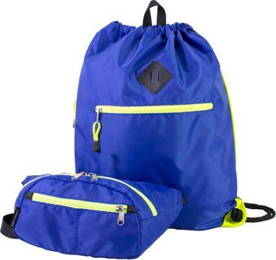 Eastsport Absolute Sport Belt Bag and Drawstring Bundle Indigo - Eastsport Slings