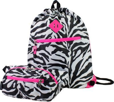 Eastsport Absolute Sport Belt Bag and Drawstring Bundle Zebra - Eastsport Slings