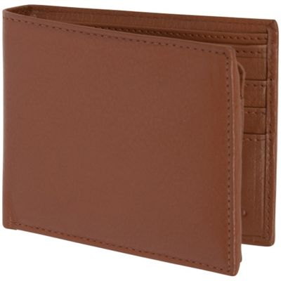 Image of Access Denied Men's RFID Blocking Wallet Genuine Italian Leather Saddle - Access Denied Mens Wallets