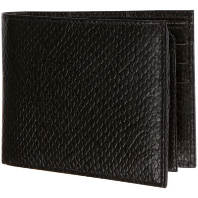 Image of Access Denied Men's RFID Blocking Wallet Genuine Italian Leather Black Python - Access Denied Mens Wallets