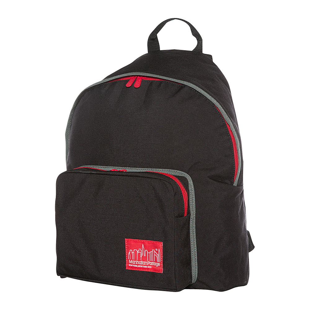 Manhattan Portage 80s Big Apple Backpack Black - Manhattan Portage Everyday Backpacks - Backpacks, Everyday Backpacks