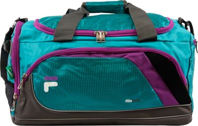 Fila Advantage Small Sport Duffel Bag Teal - Fila Gym Duffels