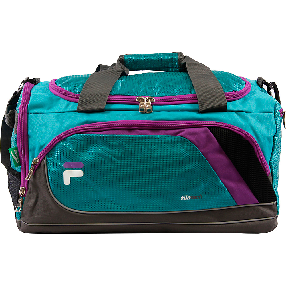 Fila Advantage Small Sport Duffel Bag Teal Fila Gym Duffels