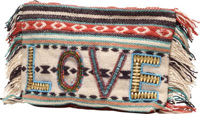 Ale by Alessandra All you need is love Clutch Multi - Ale by Alessandra Fabric Handbags