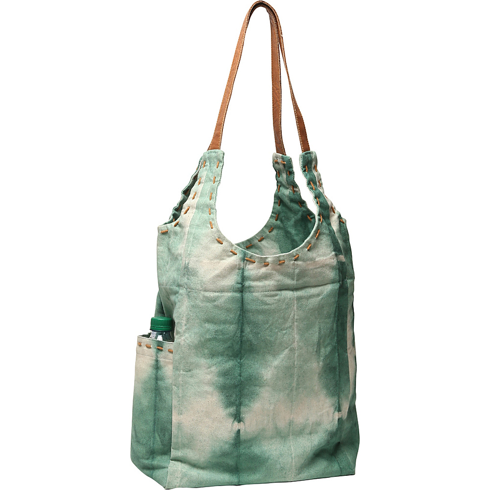 Ale by Alessandra Calistoga Tote Bottle Green Ale by Alessandra Fabric Handbags