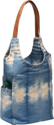 Ale by Alessandra Calistoga Tote Blue - Ale by Alessandra Fabric Handbags