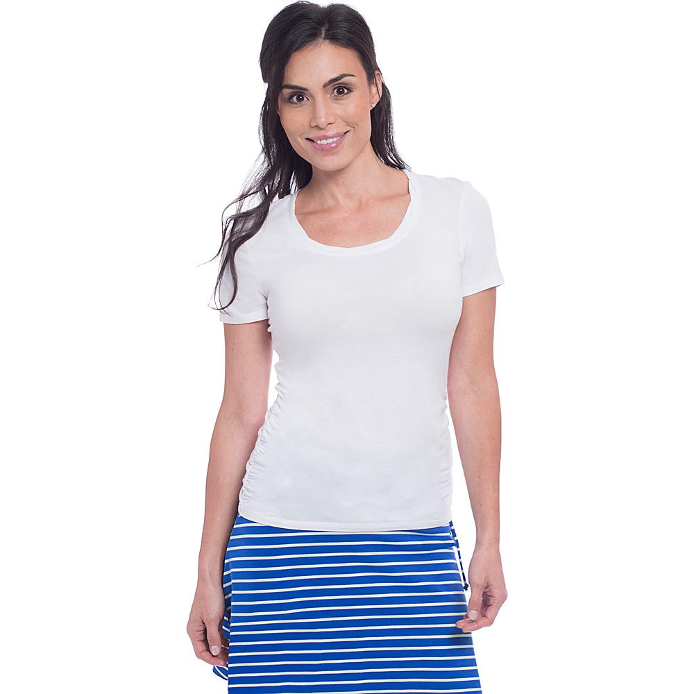 Soybu Juno Tee XS - White - Soybu Womens Apparel - Apparel & Footwear, Women's Apparel