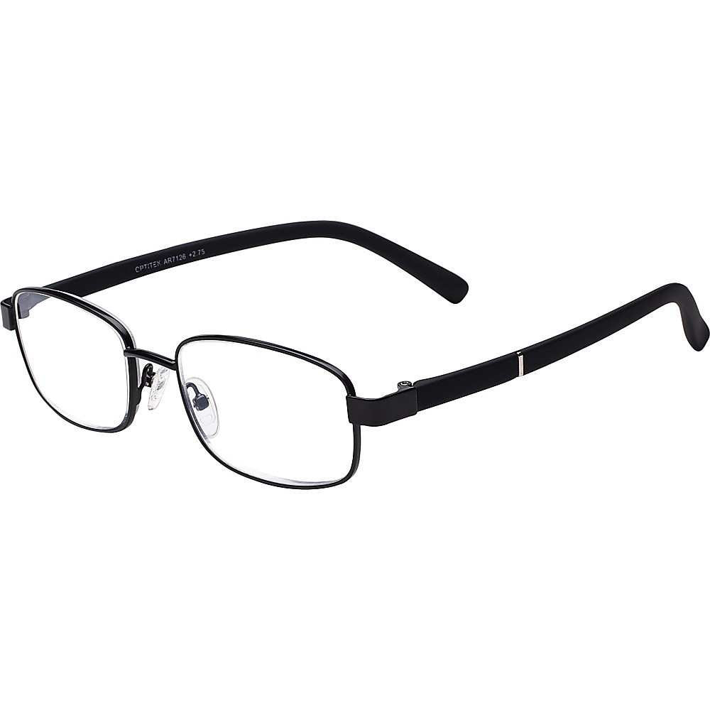 Select A Vision OptitekAR Reading Glasses 2.75 Black Select A Vision Sunglasses