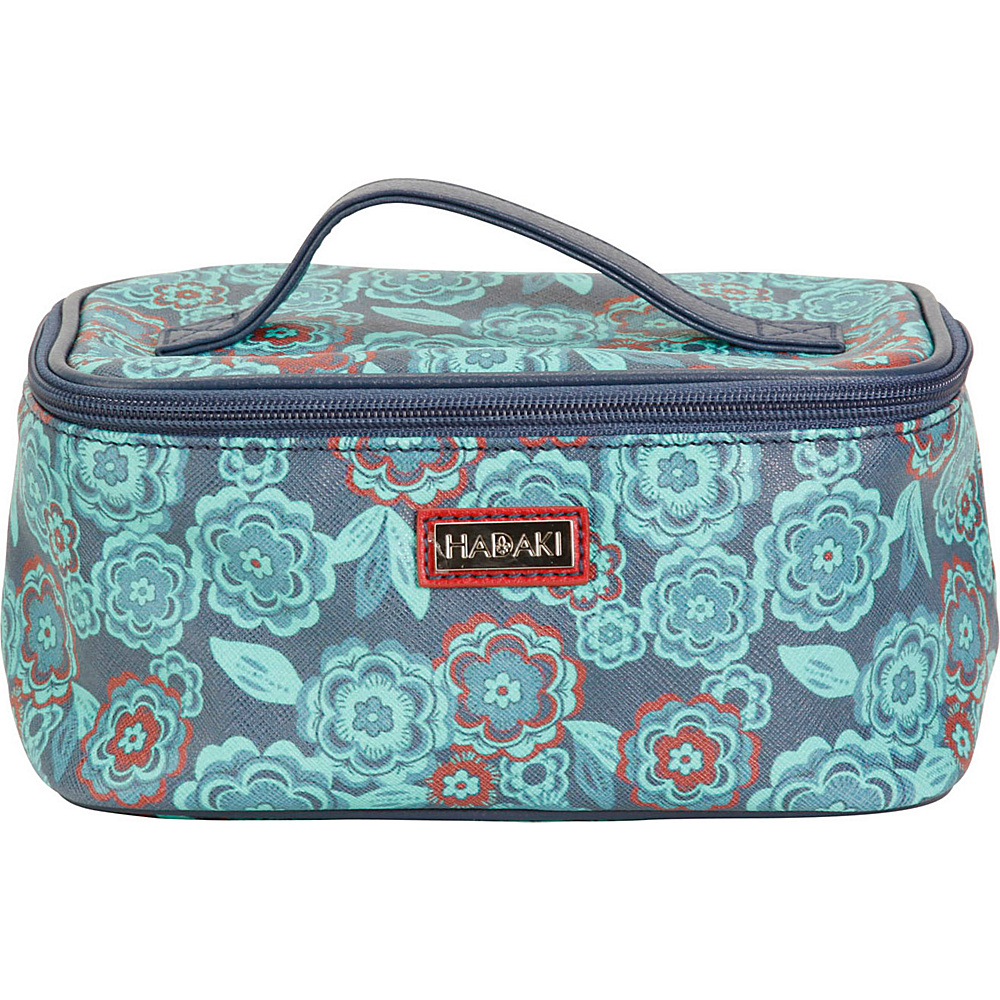 Hadaki Vegan Leather Train Case Floral - Hadaki Womens SLG Other - Women's SLG, Women's SLG Other