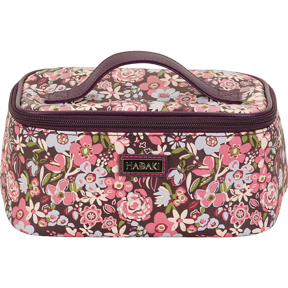 Hadaki Vegan Leather Train Case Blossoms - Hadaki Womens SLG Other - Women's SLG, Women's SLG Other