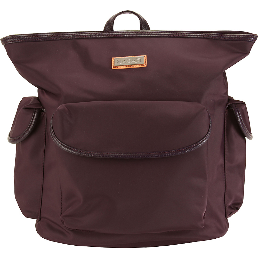 Hadaki City Backpack Plum Perfect Solid - Hadaki Everyday Backpacks - Backpacks, Everyday Backpacks