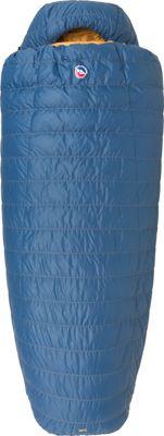 Big Agnes Deer Park 30 600 DownTek Long Sleeping Bag Blue - Long - Big Agnes Outdoor Accessories